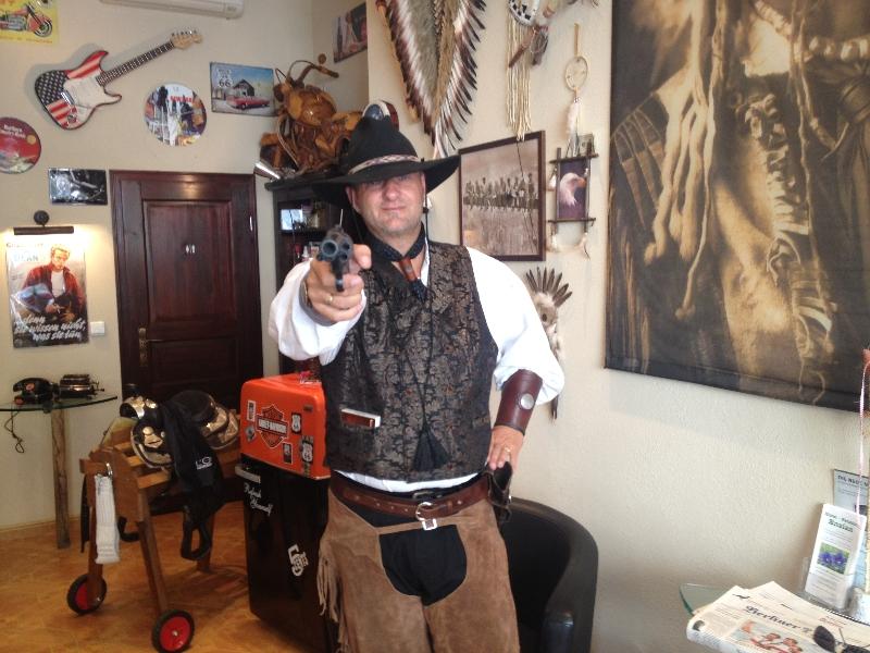 04-Cowboy im Barbershop